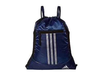 adidas Alliance II Sackpack (Tech Indigo/Blue/Metallic Silver) Bags