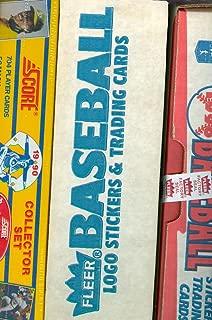1987 1990 Fleer Score Baseball Complete set FACTORY BOX Barry Bonds Rookie Card