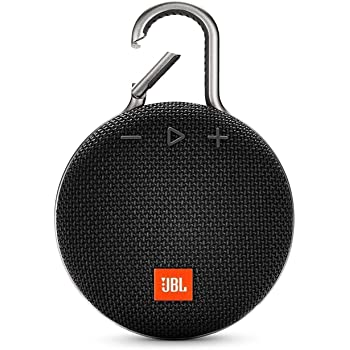 JBL CLIP 3 - Waterproof Portable Bluetooth Speaker - Black