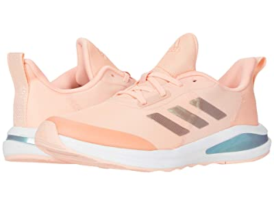 adidas Kids FortaRun (Little Kid/Big Kid) (Haze Coral/Footwear White/Grey Two) Girls Shoes