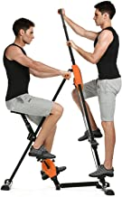 Kepteen Vertical Climber Folding 2 in 1 Climbing Stepper Home Gym Exercise Machine Exercise Bike for Home Body Trainer Stepper Cardio Workout Training(US Stock)