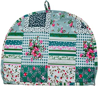 Thick Padded Insulating Tea Cozy - Pure Cotton and Traditional - Double layered with Inner Waterproof Polyester Fabric