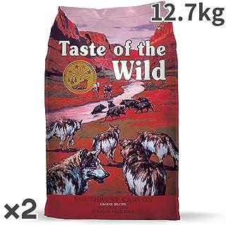 テイストオブザワイルド サウスウエスト キャニオン 全年齢犬用 12.7kg×2入