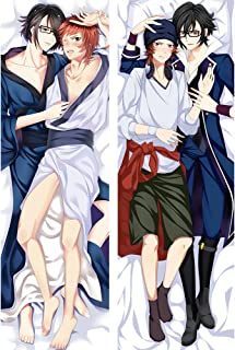 shanng Saruhiko Fushimi and Misaki Yata - K Project Male 2 Way Tricot Pillowcases 150 x 50cm(59in x 19.6in)