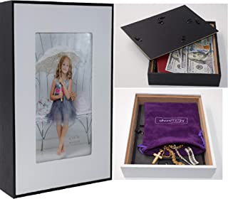 Diversion Safe - Stash Cans – Picture Frame Can Safes, Secret Compartment for Money, Jewelry or Herbs, Hiding Containers- Safe Secret, Stash it to Hide valuables. Free Pouch