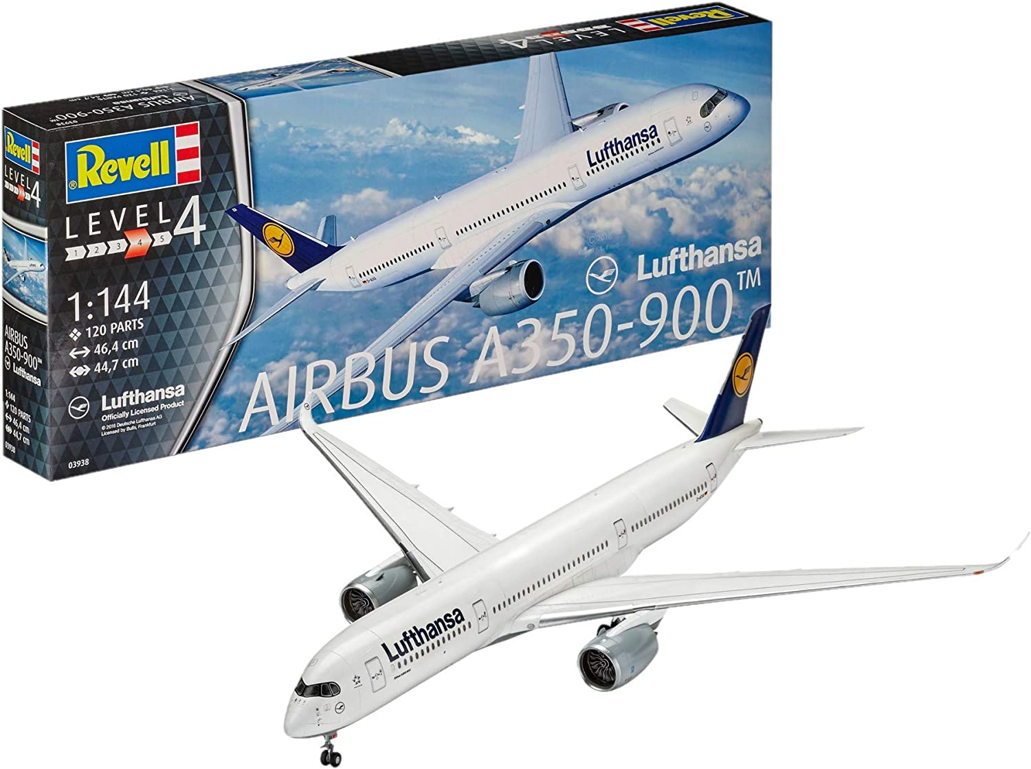 Revell of Germany Airbus A350900 Luftansa Building Kit