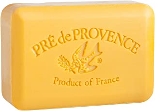 Pre de Provence Artisanal French Soap Bar Enriched with Shea Butter, Spiced Rum, 250 Gram