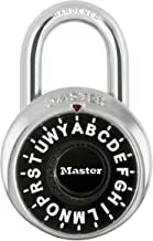 Master Lock 1572AU 48mm General Security Combination Padlock, Black