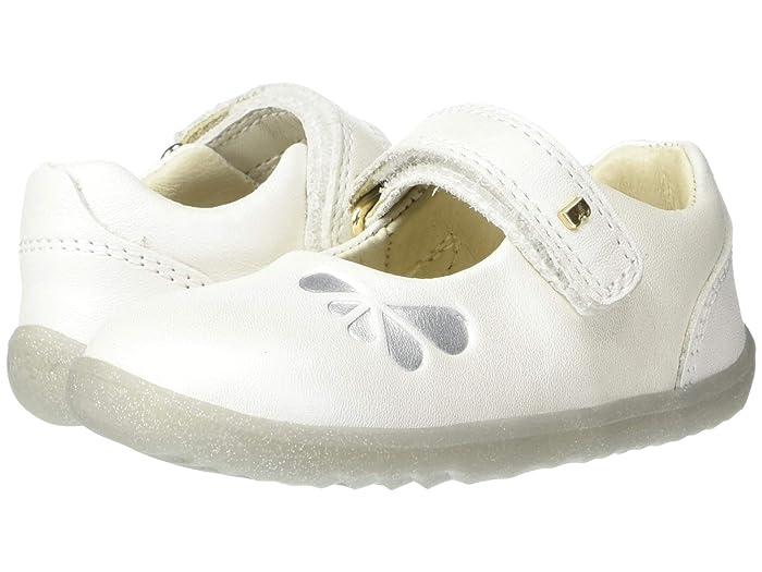 Bobux Kids  Step Up Delight (Infant/Toddler) (White Petal) Girls Shoes