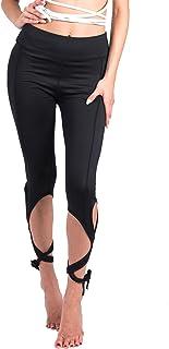 KINDOYO Women's Bandage Dancing Skinny Leggings,Yoga Pants & Pilates Pants