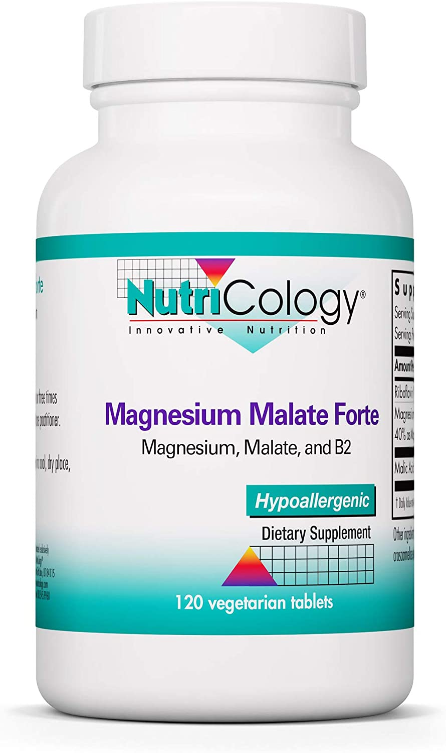 NutriCology Outlet Houston Mall sale feature Magnesium Malate Forte - Energy with Sup Riboflavin