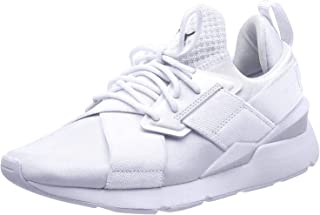 PUMA Women's Muse Satin EP WN's Sneakers, White White