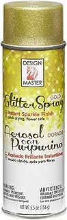 Design Master No.831 Glitter Gold Spray