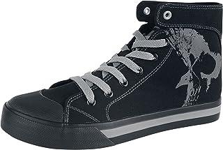 Black Premium by EMP Walk The Line Baskets mixtes haut de gamme Noir basiques Casual Wear