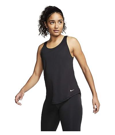 Nike Dry Victory Elastika Tank (Black/White) Women