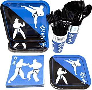 martial arts birthday party favors