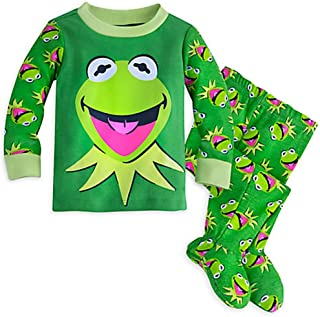 Disney Store Kermit Footed PJ Pals for Baby
