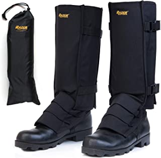 Snake Gaiters with Storage Bag - Snake Protection Gaiter for Lower Legs