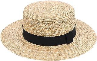 Women Wide Brim Straw Hat Fashion Chapeau Paille Summer Lady Sun Hats Boater Wheat Panama