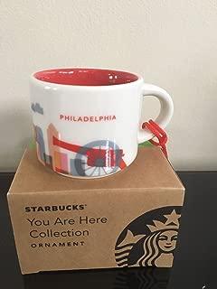 Starbucks City Mug PHILADELPHIA You Are Here Ornament 2oz 2016