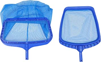 BESPORTBLE 2pcs Swimming Pool Cleaning Net Professional Skimmer Net Mesh Fishing Net Replacement (Upgrated Net & Upgrated ...