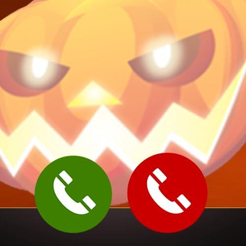 Fake call from Halloween Pumpkin