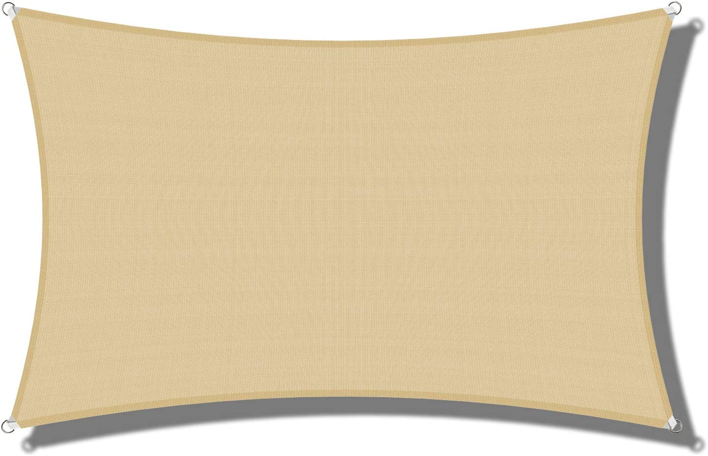 COARBOR Sun Shade Sail 5 ☆ popular Square Rectangle Max 43% OFF Block –UV Canopy UV Resi