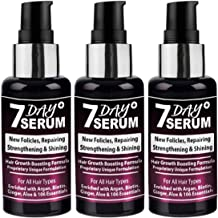 7 Day Serum - Rapid Hair Growth Boosting Serum Formula (Combo Pack of 3)