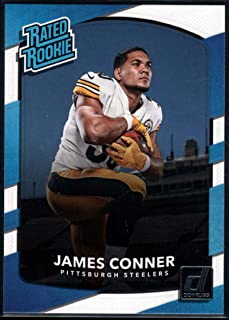 Football NFL 2017 Donruss #322 James Conner Rated Rookie Steelers