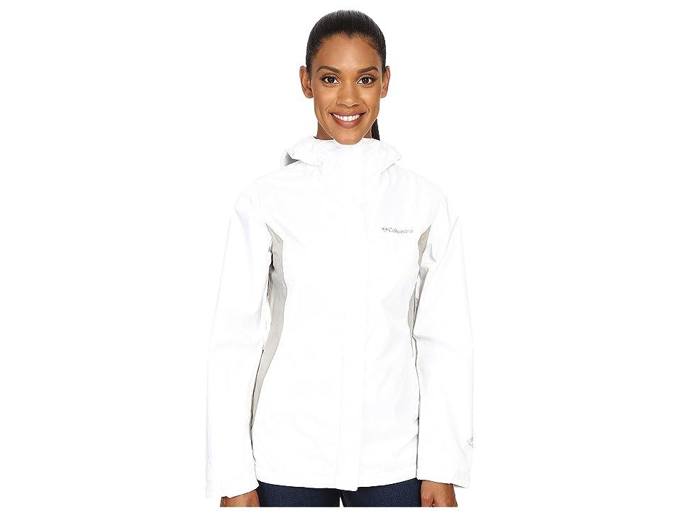Columbia Arcadia IItm Jacket (White/Flint Grey) Women