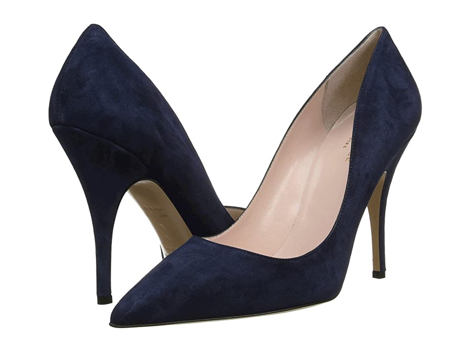 Kate Spade New York Licorice (Navy Suede) High Heels