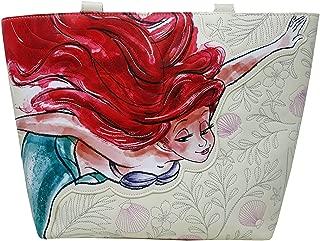 x The Little Mermaid Ariel Watercolor Tote Bag