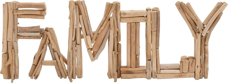 Benzara 76360 Creative Styled Striking Driftwood Family