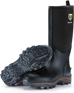 Rubber Neoprene Boots Men and Women, Waterproof Durable...