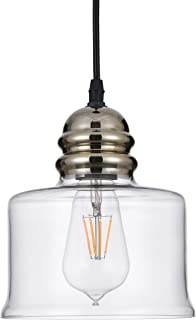 Best colored glass pendant lights Reviews