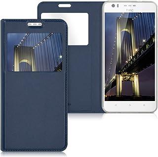 216ddca6ea0 kwmobile Funda para HTC Desire 10 Lifestyle - Carcasa de [Cuero sintético]  con [