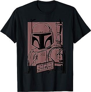 Star Wars Bobba Fett Solid Poster Camiseta