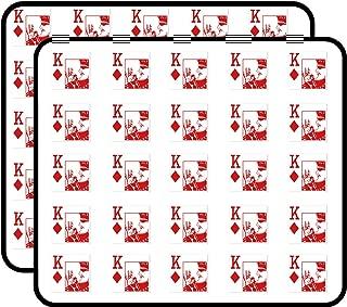 King of Diamonds Kappa Alpha Psi Sticker for Scrapbooking, Calendars, Arts, Kids DIY Crafts, Album, Bullet Journals 50 Pack