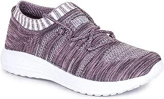 REFOAM Women's Purple & Grey MESH Casual Shoe
