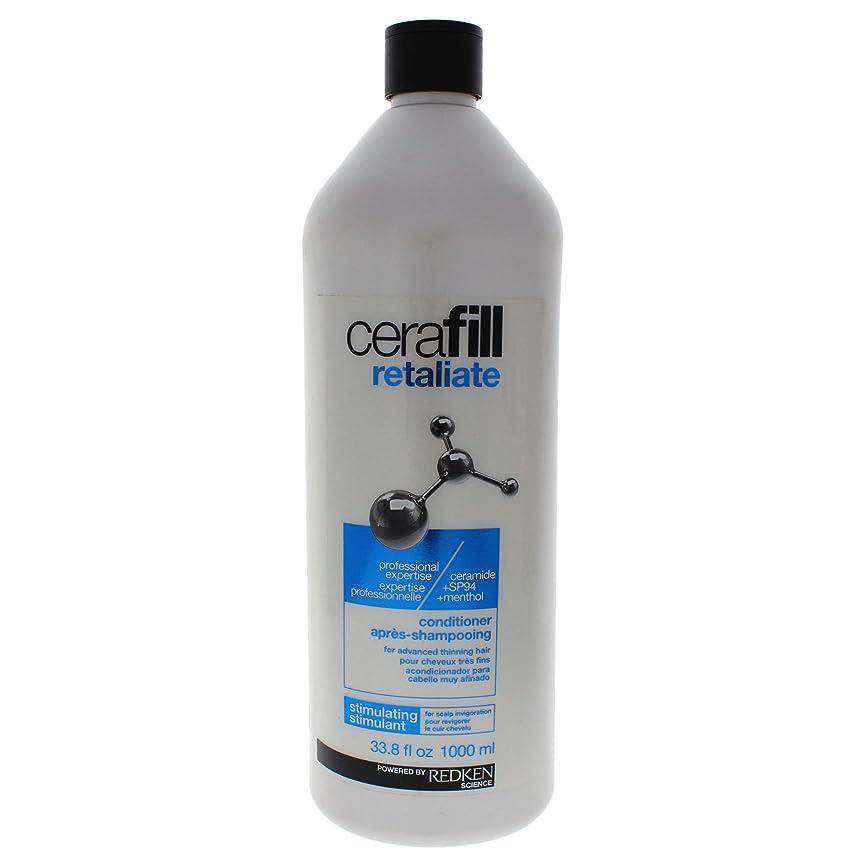よく話される脅かす簡略化するレッドケン Cerafill Retaliate Stimulating Conditioner (For Advanced Thinning Hair) 1000ml