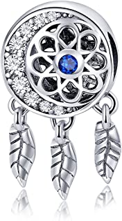 Love Heart Place Sparking CZ Aladdin's Lamp 925 Sterling Silver Bead Fits European Charm Bracelet (Pink Heart)