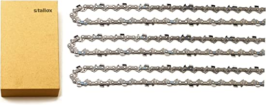 tallox 3 16 Inch Chainsaw Chains .325 Inch Gauge .050 Inch Pitch 66 Drive Links Full Chisel fits Husqvarna: 41, 45, 49, 51, 55, 336, 339XP, 340, 345, 346 XP, 350, 351, 353, 435, 440, 445 and 450e
