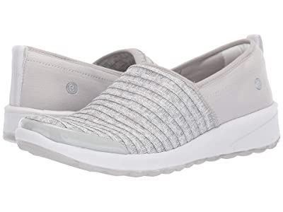 Bzees Glee (Light Grey Ribbed Knit) Women