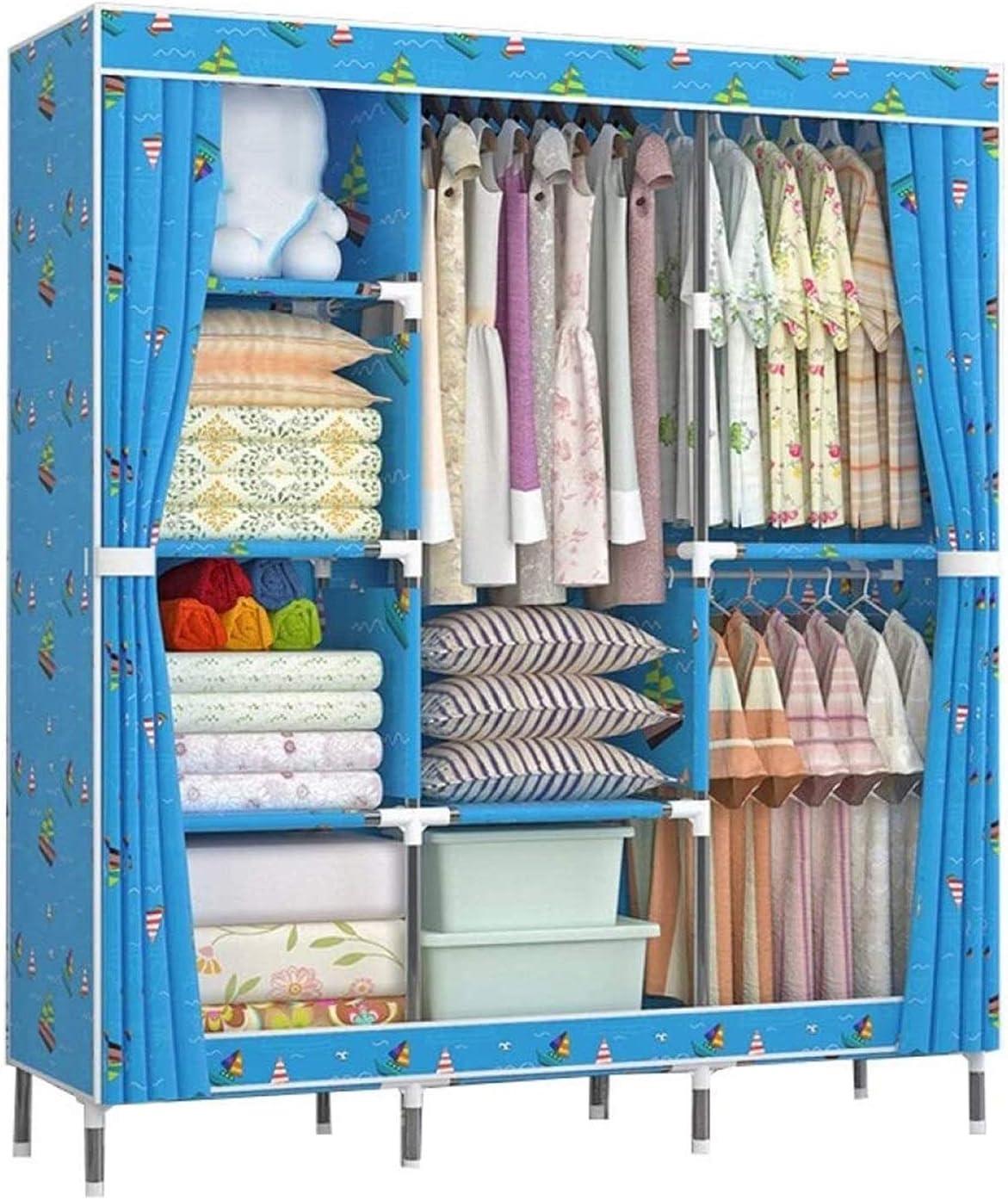 Year-end annual account LLCY Portable Closet Organizer Clothes Daily bargain sale S Wardrobe