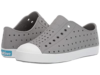 Native Kids Shoes Jefferson Reflective (Little Kid) (Pigeon Reflective/Shell White) Kid