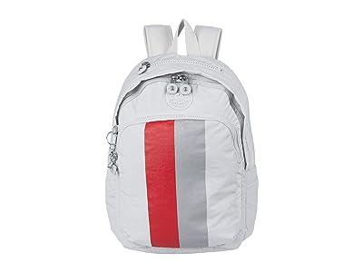Kipling Delia Backpack (Curiosity Grey Stripe) Backpack Bags