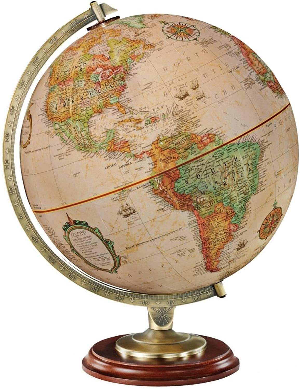 Replogle Globes Kingston Globe, Multicolor