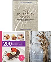 Hamlyn All Colour Cookery: 200 Cakes & Bakes, Sourdough School [Hardcover], Spelt [Hardcover] 3 Books Collection Set