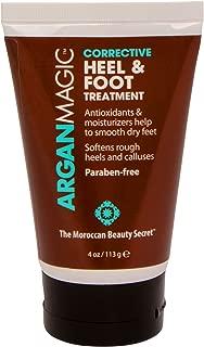 ARGAN MAGIC - Corrective Heel and Foot Treatment - Softens Rough Heels and Calluses | Paraben Free (4 Ounce / 113 Gram)
