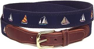 preppy canvas belts